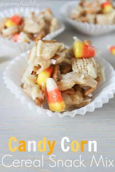 Yummy Healthy Easy: Candy Corn Cereal Snack Mix