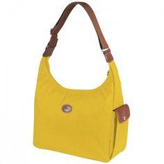 Longchamp Hobo Daily Companion Bag Yellow : your title, your description$70.22