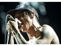 Red Hot Chili Peppers frontman Anthony Kiedis performs on Saturday at Bonnaroo 2012.PHOTO BY DAVID HALL, FOR THE ORANGE COUNTY REGISTER