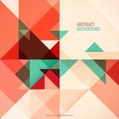 Geometric abstract free design