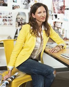 Jenna Lyons the inspiration and creativity behind J.Crew. Can I be your bestie? Please and thanks.