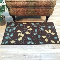 You'll love the Hammam Maxy Home Floral Garden Chocolate/Brown Area Rug at Wayfair - Great Deals on all Décor products with Free Shipping on most stuff, even the big stuff.