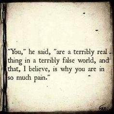 Alice in Wonderland .... True words in a make believe world ... Such a powerful statement