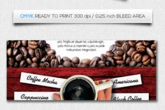 Coffee cafe Flyer Template - Creative Fabrica