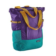 Lightweight Travel Tote Pack 22L, Purple (PUR)