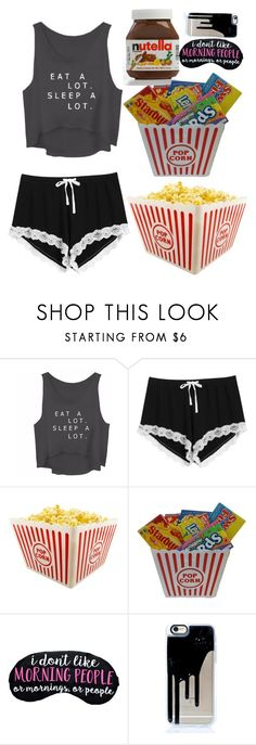"""""""Movie Night"""" by queen-of-smoke on Polyvore"""