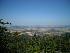 Widok ze szczytu Ślęży