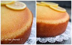 The lemon cake (gâteau ultra fondant au citron) - Torte Box Cake Recipes, Strawberry Cake Recipes, Healthy Cake Recipes, Sheet Cake Recipes, Nutella Recipes, Homemade Cake Recipes, Sweet Recipes, Snack Recipes, Dessert Recipes