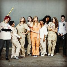 Clever Halloween Costumes For Lazy Groups: Orange is the New Black