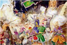 Turks assault Christian fortifications