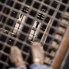 Continued from last post from early morning. Looking down through the grates after taking more conventional shots.