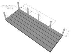 Platform Outdoor Sectional | Ana White Pallet Patio Furniture, Furniture Plans, Diy Furniture, Easy Woodworking Projects, Easy Diy Projects, Woodworking Plans, Deck Building Plans, Cedar Raised Garden Beds, Diy Sofa