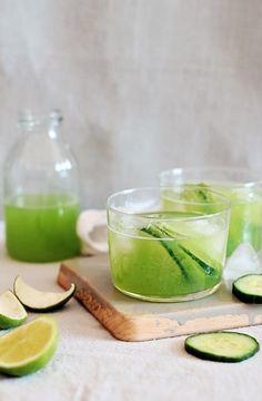 Cucumber Margarita Recipe with Fresh Juice | HelloNatural.co