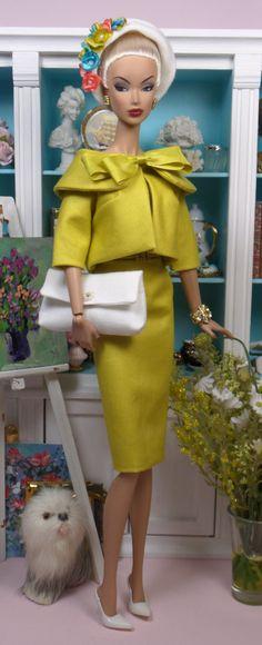 Salão de chá Vintage | Fashions Matisse e Padrões boneca