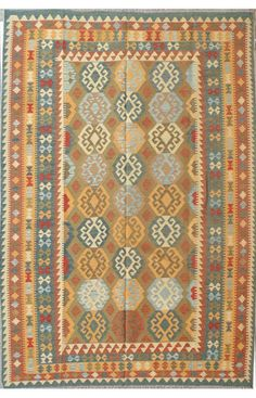 nuLOOM Hand Woven Wool Daryl Kilim | Transitional Rugs