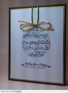 Easy & Beautiful Christmas Cards Handmade Ideas - Christmas cards handmade design ideas 7 Lots of great card ideas - Beautiful Christmas Cards, Christmas Cards To Make, Christmas Crafts, Christmas Card Designs, Christmas Ideas, Elegant Christmas, Diy Holiday Cards, Christmas Music, Funny Christmas