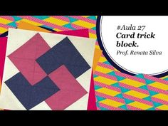 Patch & Arte com Lanmax - - Blocos de Patchwork Patchwork Cards, Patchwork Quilt, Rag Quilt, Quilt Blocks, Quilts, Nine Patch, Foundation Patchwork, Tutorial Patchwork, Shabby Fabrics