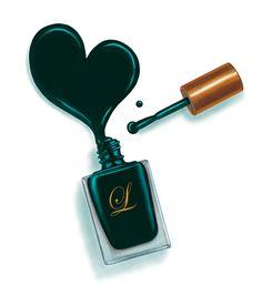 Image result for spilled nail polish clip art