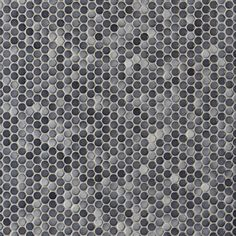 $3.99/sheet Dark Gray II Penny Porcelain Mosaic - 10in. x 12in. - 100104652 | Floor and Decor