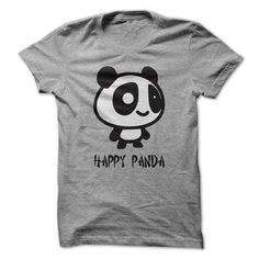 Happy Panda T-Shirt | DonaShirts.com - Dare To Be Tshirts, Hoodies And Custom