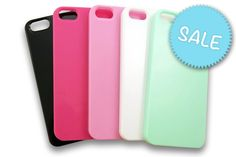 These gorgeous top quality coloured cases currently come in #5 gorgeous colours, the case itself is made of tough durable hard-wearing plastic and is a clip-on design. #CraftSupply # Phone