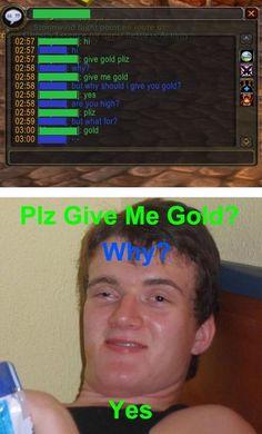Gold plz