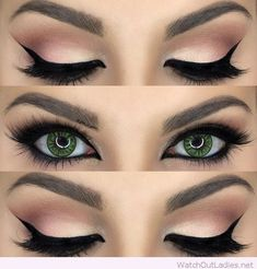 Green eyes are very rarely found. You should try these amazing eye makeup details if you are that lucky person! Check now!