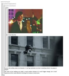 This is so true.  When he jumped I wss just in total shock my heart stopped.  When he realised he was alone at the party my heart melted. It was so sad.
