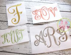 Best embroidery fonts initials images embroidery monogram