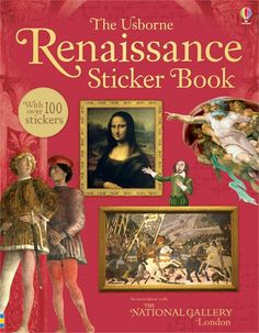 A brilliant introduction, in sticker book form, to an era which changed the world, as literature, philosophy, art, music, politics, and the sciences all flourished across Europe.  http://www.usborne.com/catalogue/book/1~A~ASB~8845/renaissance-sticker-book.aspx  #Usborne #children #book #sticker #history #education #fun #gallery #renaissance #art #music #politics #philosophy #Europe