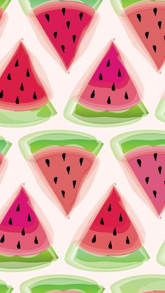 Watermelon always gets me in a sunny summer mood - hopefully it inspires you too! Here is a watermelon wallpaper I designed in a few different sizes.