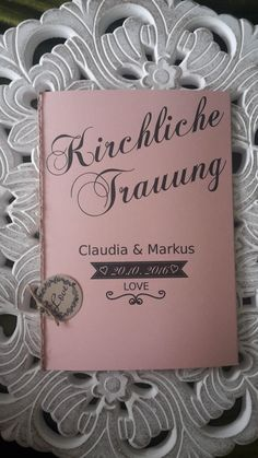 Kirchenheft in Kirschblüte...http://de.dawanda.com/shop/Gellert-123