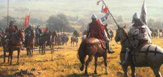 Montiel Battle 1369aD by Jose Daniel Cabrera Peña | Illustration | 2D | CGSociety