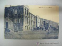 Antigua postal de Tetuán, el hospital militar (Ed. M. Arribas)