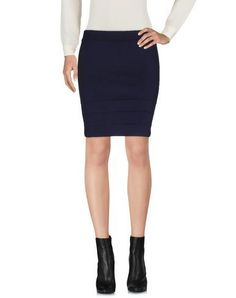 CLASS ROBERTO CAVALLI Women's Mini skirt Dark blue 12 US