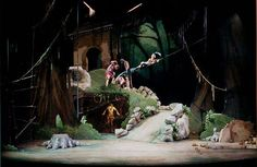 jungle book set design - Google Search