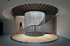 MTNG Experience spiral stairs english