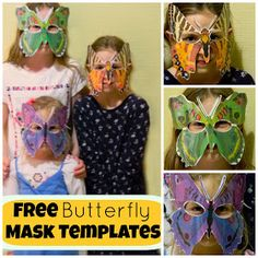 Free butterfly templates