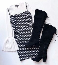 Casual Smart wear for trendy girls Teen Fashion Outfits, Mode Outfits, Look Fashion, Korean Fashion, Winter Outfits, Summer Outfits, Fashion Beauty, Dress Fashion, Christmas Fashion Outfits