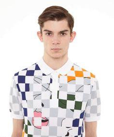 FRED PERRY X RAF SIMONS POLO SHIRT SPRING/SUMMER 2014 COLLECTION *NEW WITH TAGS!