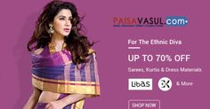 Snapdeal Offers: Upto 70% off on Sarees, Kurtis & Dress Materials    http://www.paisavasul.com/code/snapdeal-offers-upto-70-off-on-sarees-kurtis-dress-materials    #PaisaVasul.com @sanpdeal #deals #discount #discounts #offer #cashback #cashbacks #cashbackoffers @Promocodes.com  #promocodes #deals   #dealsandoffers #coupons #couponcodes #paisavasul #sanpdeal #saress #dresses #womensfashion #fashion