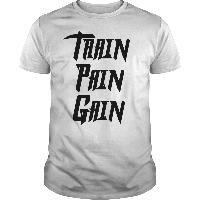 Train Pain Gain T shirts sweat shirts v necks tank tops and long sleeve shirts Shirt Sleeves, Long Sleeve Shirts, Cycling T Shirts, V Neck Tank Top, Gain, Sweatshirts, Mens Tops, Fashion, Moda
