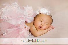 Lace Tutu and Rosette Feather Headband- Newborn- 2 yrs Newborn photos, Photo Prop, Birthdays, Special Ocassions