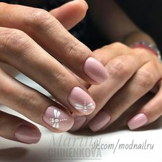 Discover new and inspirational nail art for your short nail designs. Gelish Nails, Nude Nails, Nail Manicure, Diy Nails, Nail Deco, Gel Nail Art, Creative Nails, Nails Inspiration, Beauty Nails