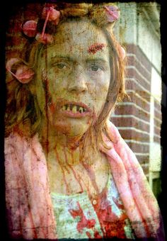 housewife zombie. comment:) #zombies