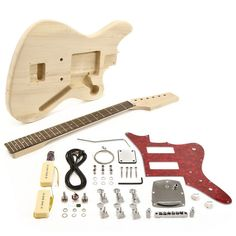 Build Your Own Electric Guitar Kit Licensed Fender Tele Kit