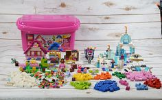 Mixed Lego Lot Parts from 5560 + Some Disney Frozen Lego Pieces & Mini Figures #Lego