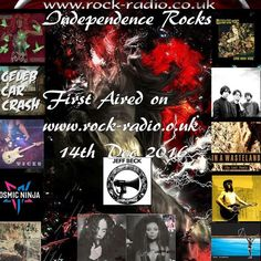 """Check out """"Alternative Edition of Independence Rocks first aired on Rock Radio UK 14th Dec. 2016"""" by Nick Giles on Mixcloud"""