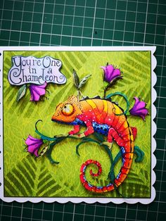 Stamp Making, Card Making, Crazy Animals, Lavinia Stamps, Art Impressions, Ink Stamps, Heartfelt Creations, Penny Black, Lizards