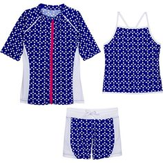 SwimZip Little Girls Short Sleeve Rash Guard Swim Shorts ... https://www.amazon.com/dp/B017DN52QS/ref=cm_sw_r_pi_dp_x_QRv4ybTPHJCSG